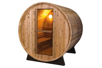 Barrel Sauna   Fonteyn Rustic 6 Ft.   Buitensauna   Red Cedar   Uniek design