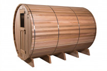 category Fonteyn | Barrelsauna 7+3 ft. Grandview | Rustic 400261-20