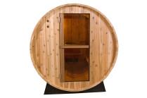 Barrel Sauna | Fonteyn Rustic 6 Ft. | Buitensauna | Red Cedar | Uniek design