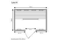 category Fonteyn   Infraroodcabine Levi 4 Exclusive   FS 400029-10